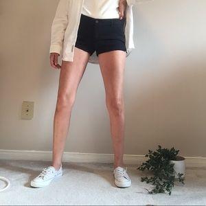 New Abercrombie Navy Chino Shorts